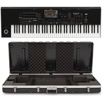 Korg Pa4X-76 Keyboard with Gear4music ABS Case