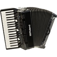 Roland FR-4X V-Accordion with Keyboard Black - Box Opened