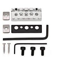 'Guitarworks Electric Guitar Tremolo Locking Nut Chrome 42mmx16mm