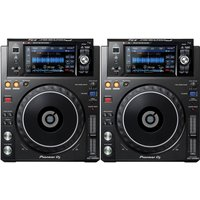 Pioneer XDJ-1000MK2 Touch Screen USB Player Pair