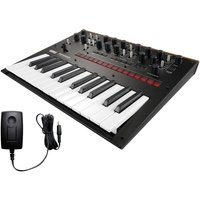 Korg Monologue Analogue Synthesizer Black With Power Supply