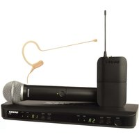 Shure BLX1288E/MX53-S8 Dual Wireless System with SM58 and MX153