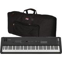 Yamaha MX88 Music Production Synthesizer With Gator Bag