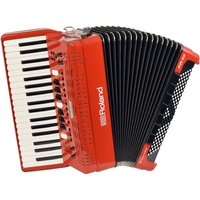 Roland FR-4X V-Accordion with Keyboard Red - Box Opened