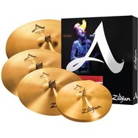 Zildjian A Cymbal Set with Free 18 Medium-Thin Crash