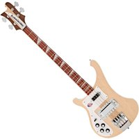 Image of Rickenbacker 4003 Left Handed Bass Guitar Mapleglo