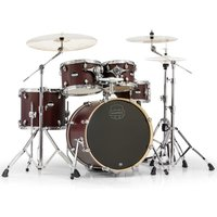Image of Mapex Mars 504 Fusion 20 5 Piece Drum Kit Bloodwood