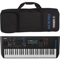 Yamaha MODX6 Synthesizer Keyboard with Soft Case
