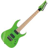 Ibanez RGR5227MFX Prestige 7-String Transparent Fluorescent Green