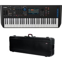 DISC Yamaha MODX6 Synthesizer Keyboard with Gator Hard Case