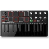 Akai MPK Mini MK 2 Laptop Production Keyboard Black - Box Opened