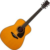 Image of Yamaha FG5 Red Label Acoustic Heritage Natural