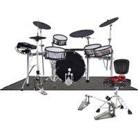 Roland TD-50KVX V-Drums Ultimate Pearl Bundle