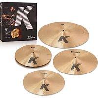 Zildjian K Cymbal Boxset with Free 18 K Dark Thin Crash