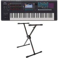 Roland Fantom 6 61 Key Synthesizer Workstation with X-Frame Stand