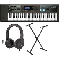 Roland Juno-DS61 61 Key Synthesizer With Stand and Headphones