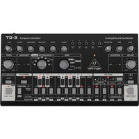 Behringer TD-3-BK Analog Bass Line Synthesizer Black