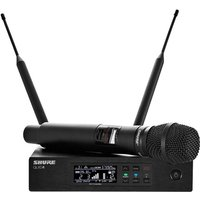 Shure QLXD24UK/SM87-K51 Handheld Wireless Microphone System