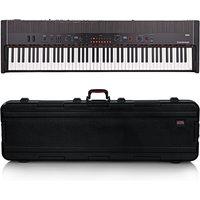 Korg Grandstage 88 Stage Piano Gator Case Bundle