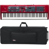 Nord Stage 3 HP76 with Gator GK-76 Case