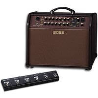 Boss Acoustic Singer Pro Amplifier with GA-FC Foot Controller