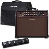 Boss Acoustic Singer Pro Amplifier with Cover and Foot Controller
