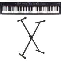 Roland RD-88 Compact 88-Key Stage Piano with X-Frame Stand