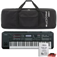Yamaha MOXF6 Synthesizer with Bag and Expansion Card