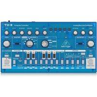Behringer TD-3 Analog Bass Line Synthesizer Transparent Blue