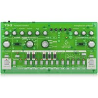 Behringer TD-3 Analog Bass Line Synthesizer Transparent Green