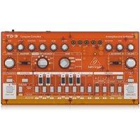 Behringer TD-3 Analog Bass Line Synthesizer Transparent Orange