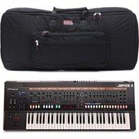 Roland Jupiter-X 61 Key Synthesizer with Gator Bag