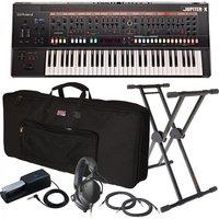 Roland Jupiter-X 61 Key Synthesizer Ultimate Bundle