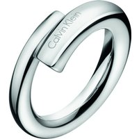 Ladies Calvin Klein Stainless Steel Size P Scent Ring
