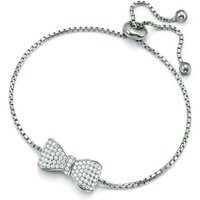 Ladies Folli Follie Sterling Silver Fashionably Silver Papillion Bracelet