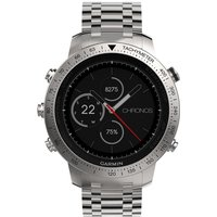 Mens Garmin Fenix Chronos Bluetooth GPS HR Alarm Chronograph Watch