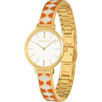 Agama Bangle Orange & Gold Watch