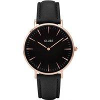 Image of Ladies Cluse La Boheme Leather Watch