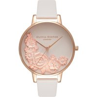3d Bouquet Blush & Rose Gold Watch