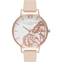Butterfly Wing Rose Gold & Nude Peach Watch