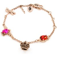 Ladies Juicy Couture Rose Gold Plated Enchanted Charm Bracelet