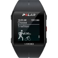 Unisex Polar V800 Bluetooth Heart Rate Monitor GPS Smart Alarm Chronograph Watch
