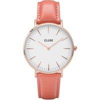 Image of Ladies Cluse La Boheme Limited Edition Flamingo Pink Watch