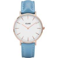 Image of Ladies Cluse La Boheme Limited Edition Retro Blue Watch