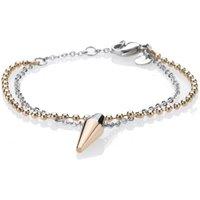 Ladies STORM Two-tone steel/gold plate Pendulum Bracelet