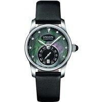 Ladies Union Glashuette Seris small second Automatic Diamond Watch