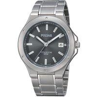 Image of Mens Pulsar Titanium Watch