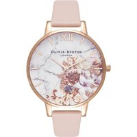 Marble Florals Rose Gold & Nude Peach Watch