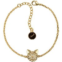 Ladies Karl Lagerfeld Gold Plated Choupette Bracelet