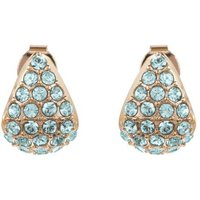 Adore Pave Triangle Earrings